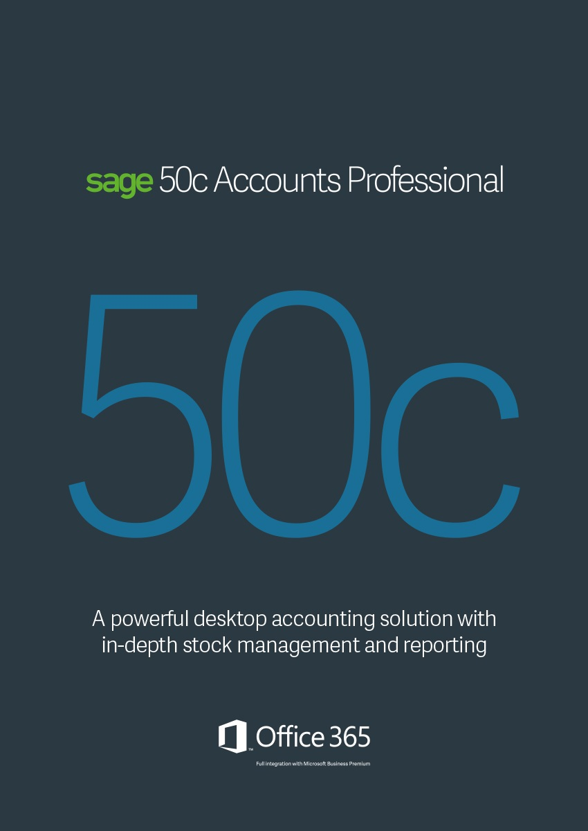 Sage 50C Accounts Profesional Annual subscription