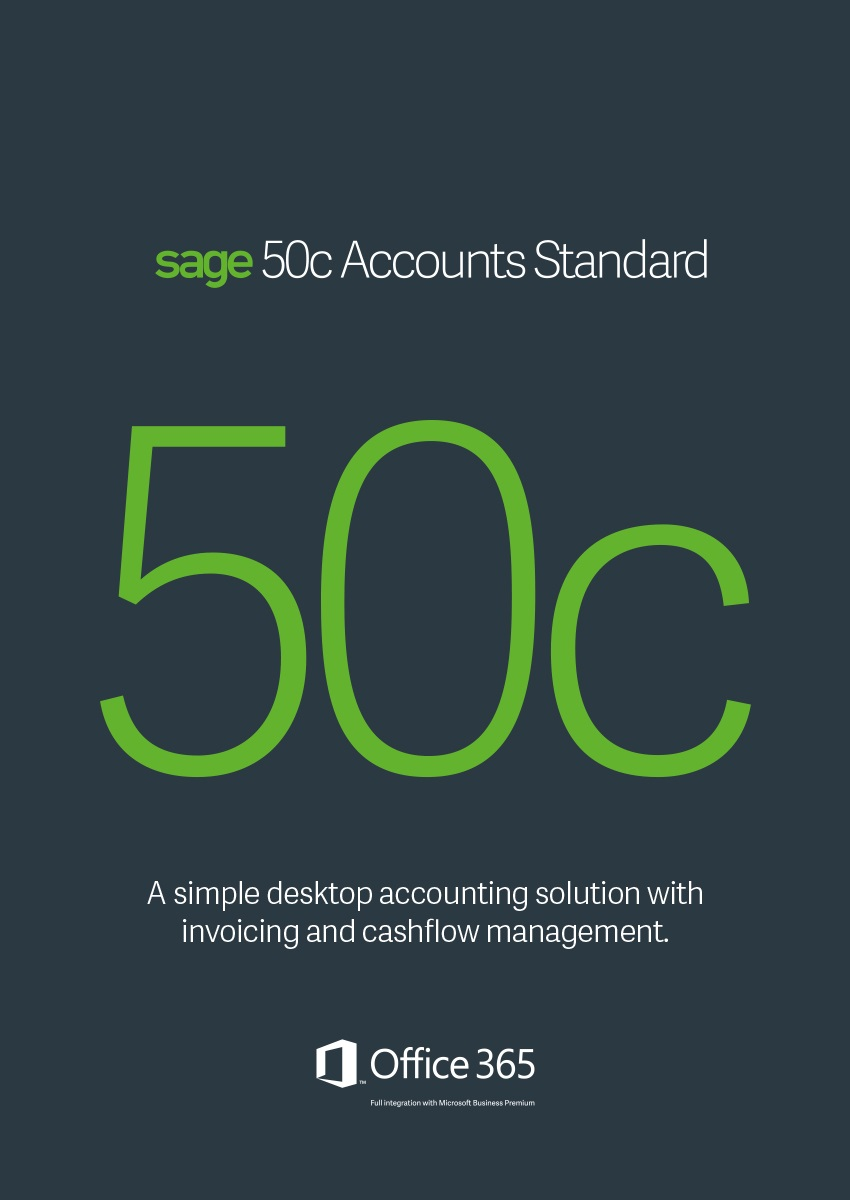Sage 50C Accounts Standard Annual subscription